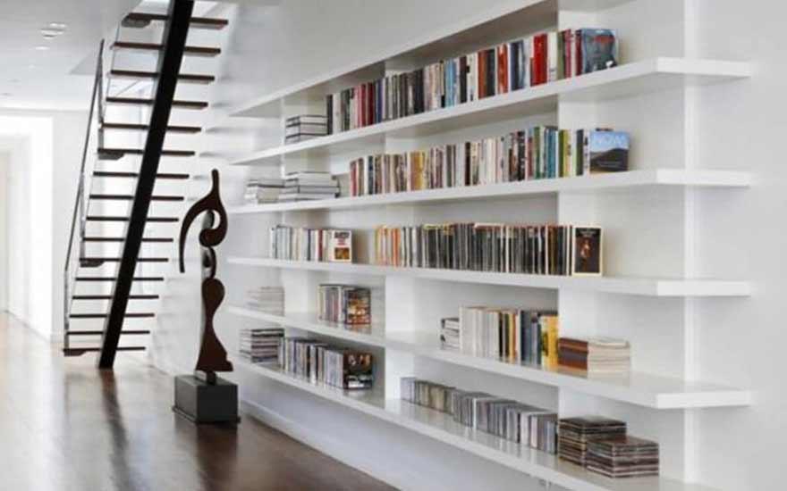 tendances d co comment int grer une biblioth que dans sa d co d int rieure decodambiance. Black Bedroom Furniture Sets. Home Design Ideas