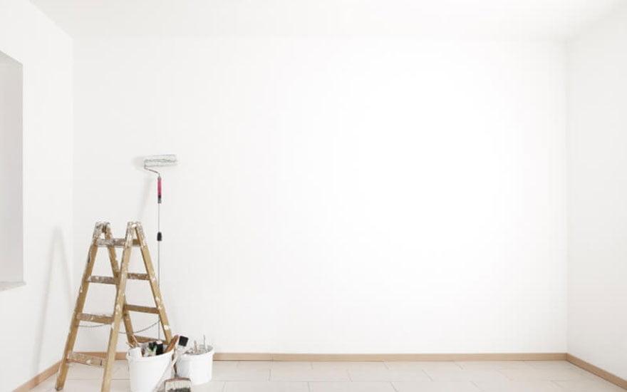 peindre un angle de mur facilement les tapes pour r ussir. Black Bedroom Furniture Sets. Home Design Ideas