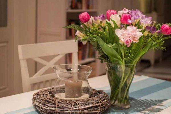 deocrer sa maison avec des fleurs