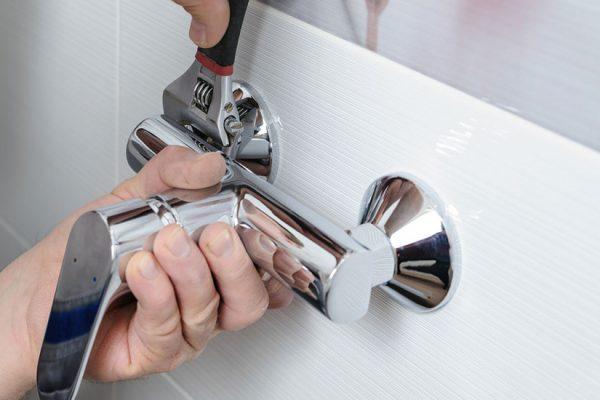 hauteur fixer mitigeur de douche