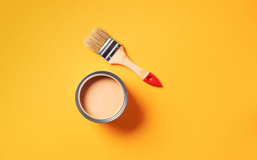 jaune safran association de couleurs en décoration