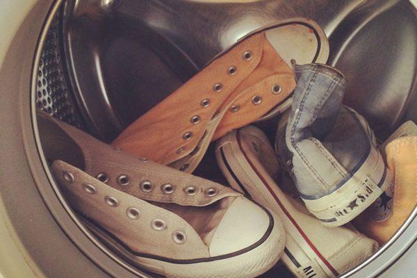 laver des chaussures en machine