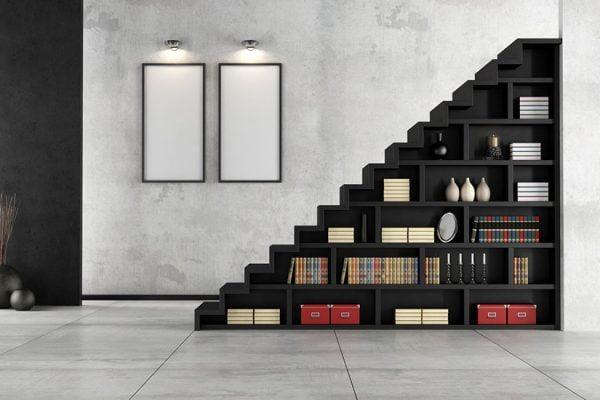 décorer une montée d'escalier