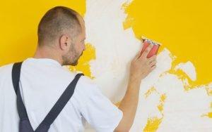 comment poncer un mur peint