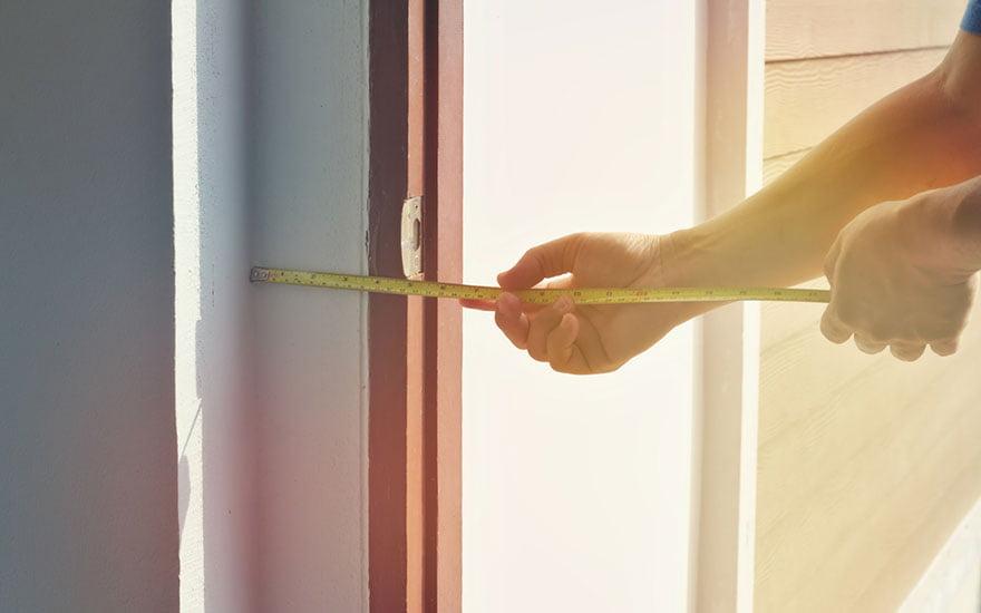 comment mesurer une porte