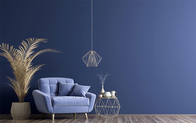 couleur bleu tendance 2021