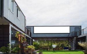 isolation d'une maison container