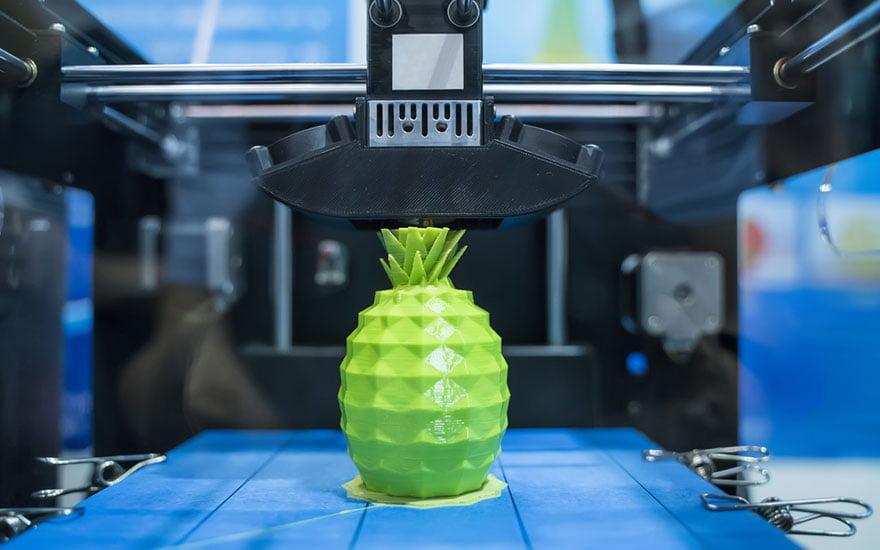 imprimante 3d jardin