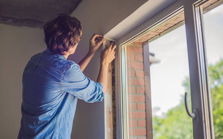 isoler une fenêtre de la chaleur