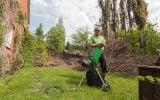affuter les couteaux d'un broyeur végétaux