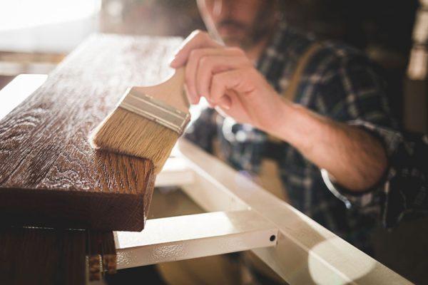 vieillir du bois avec de la peinture