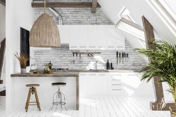 cuisine blanche couleurs murs