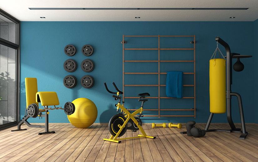 aménager une salle de sport
