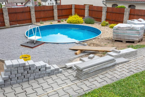 creer un pool house