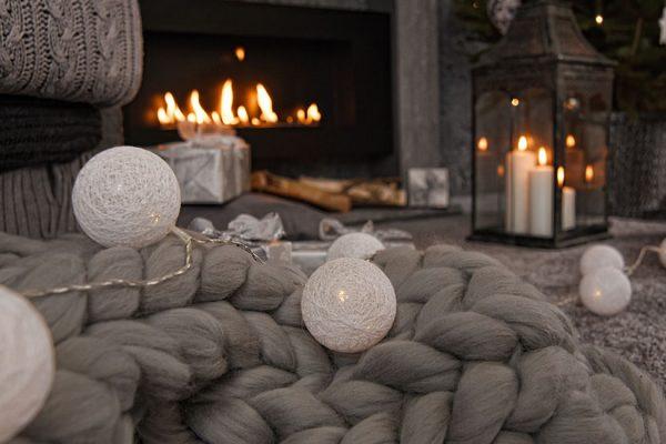 décorer salon avec une cheminee