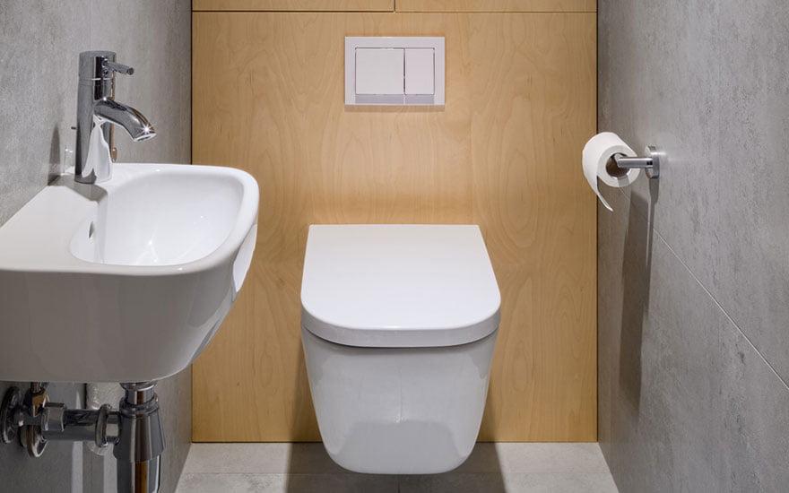 petit wc aménagement