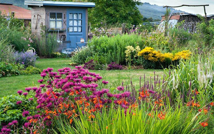 jardin fleuri méthodes
