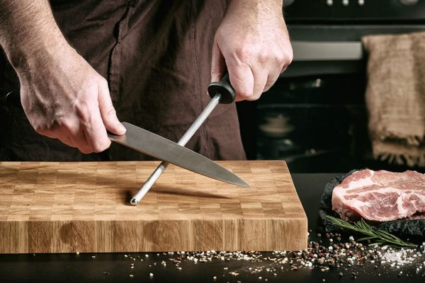 aiguiser un couteau