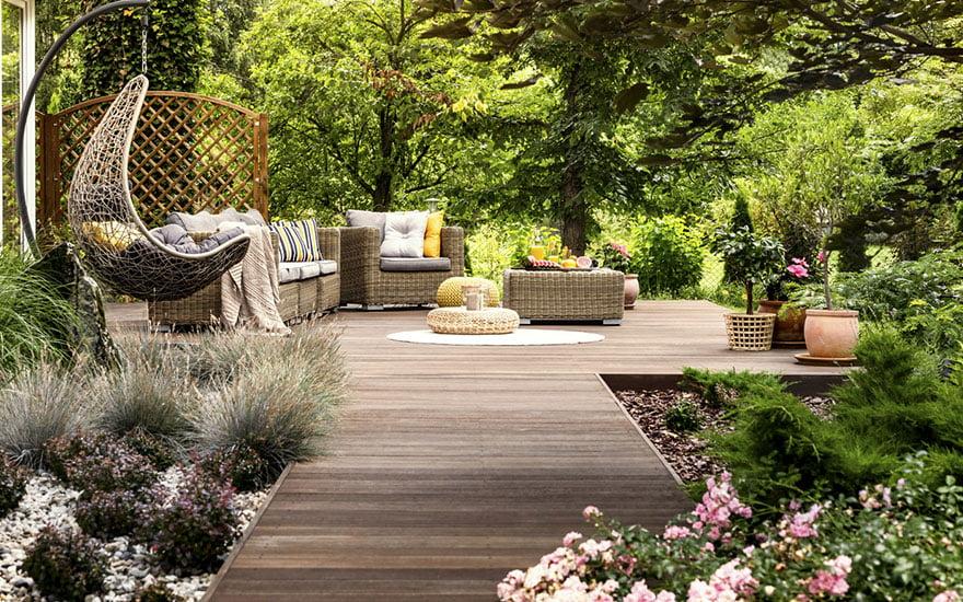optimiser espace jardin