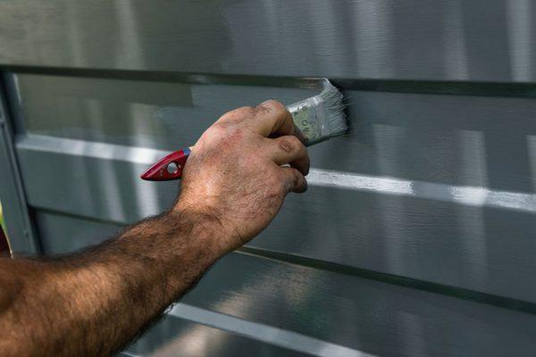 peindre sur de l'aluminium