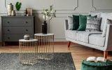 tapis salon couleurs et formes