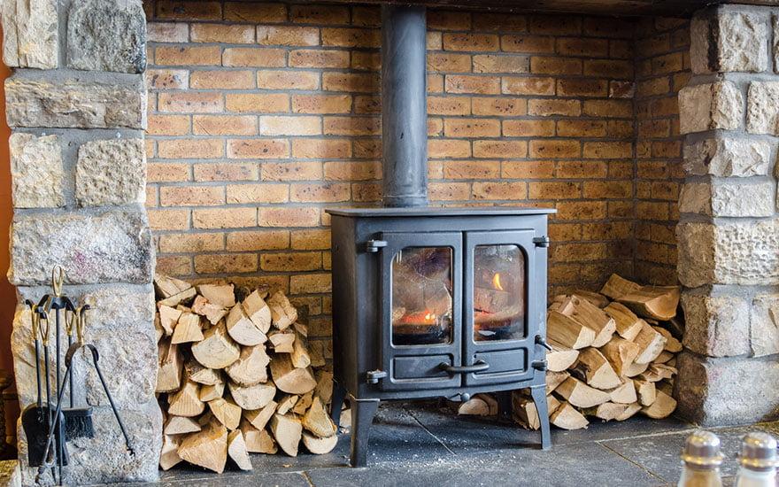 avantages du poele à bois