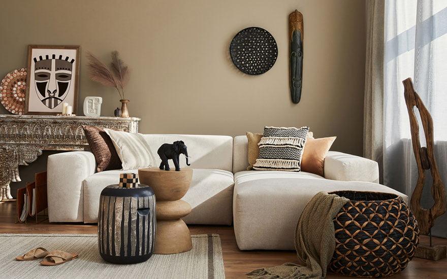 éléphant décoration salon