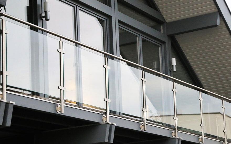 garde de corps pour la terrasse