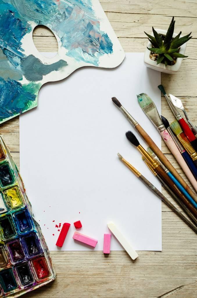 Grain papier aquarelle couleur intensité
