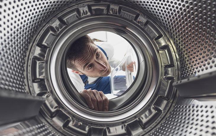 Lave Linge Porte Bloquee